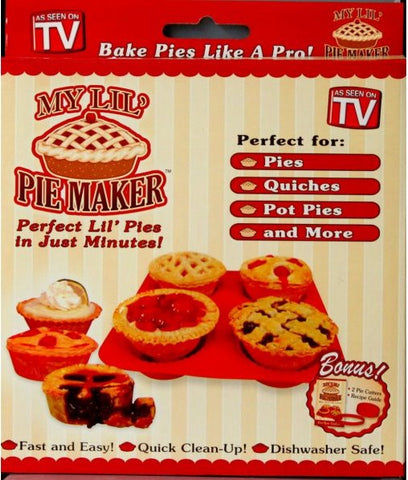 As Seen On TV My Lil' Pie Maker - SCRAPBOOKFARE