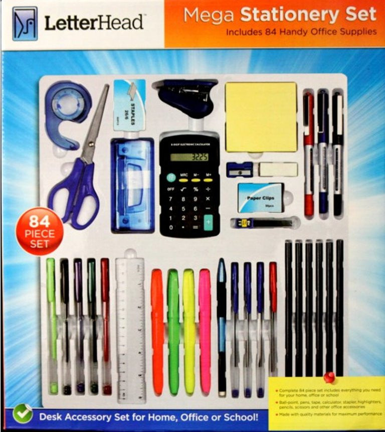 cool handy office supplies. LetterHead Handy Office Supplies Mega Stationery Set - SCRAPBOOKFARE Cool B