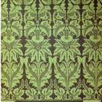 Cosmo Cricket Evangeline Tapestry Double-Sided Flat Floral Designer Scrapbook Paper - SCRAPBOOKFARE