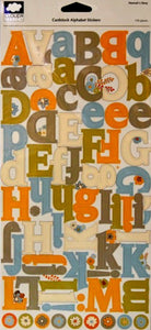 Cloud 9 Design Hannah's Story Cardstock Alphabet Stickers - SCRAPBOOKFARE