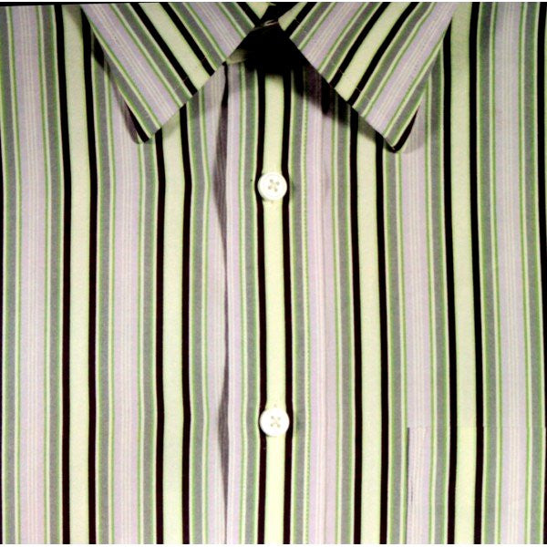 Man's Striped Shirt 12 x 12  Flat Scrapbook Paper - SCRAPBOOKFARE