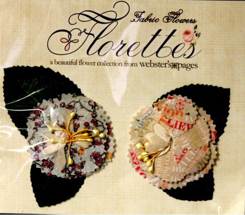 Webster's Pages Trendsetter Fabric Flowers Florettes