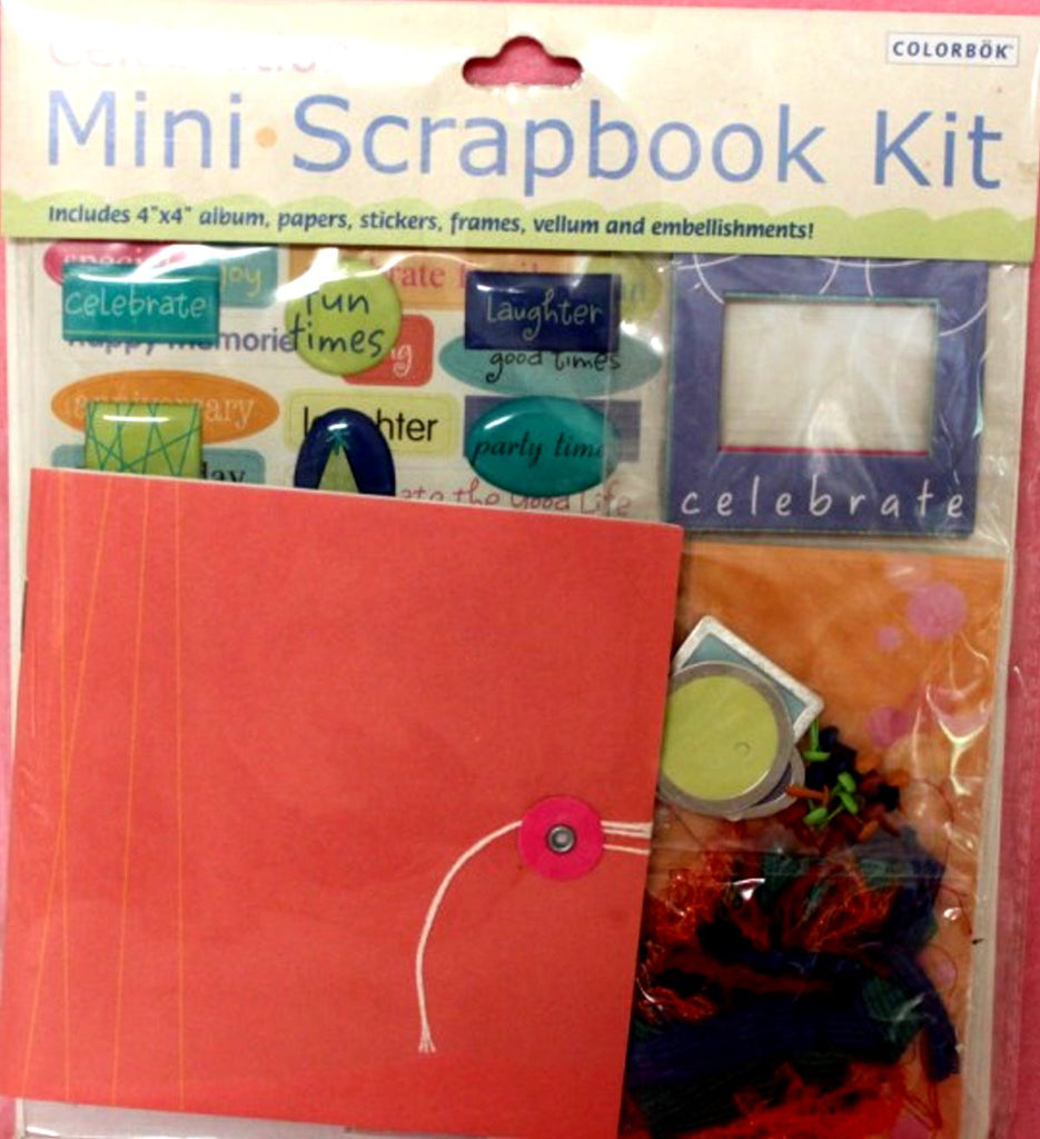 Colorbok Celebration Mini Scrapbook Kit - SCRAPBOOKFARE