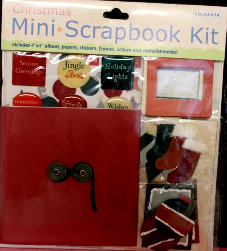 Colorbok Christmas Mini Scrapbook Kit - SCRAPBOOKFARE
