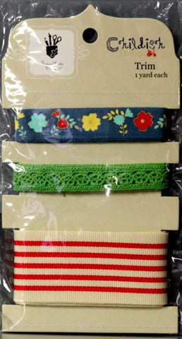 Fancy Pants Designs Childish Trims Pack - SCRAPBOOKFARE