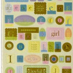 Heidi Grace Glitter Alphas & Words Baby Stickers - SCRAPBOOKFARE