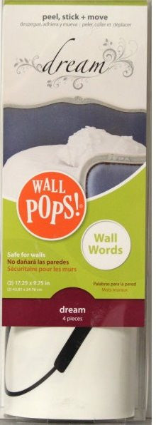 Brewster Home Fashions Dream Words Wall Pops - SCRAPBOOKFARE