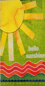 Scrapbookfare Hello Shineshine Handmade Dimensional Greeting Card