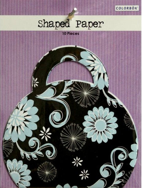 Colorbok Purse Shaped Scrapbook Papers - SCRAPBOOKFARE