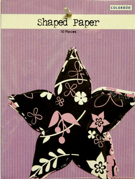 Colorbok Flowers Shaped Scrapbook Paper - SCRAPBOOKFARE