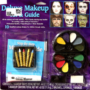 Fun World Deluxe Makeup Kit & Guide