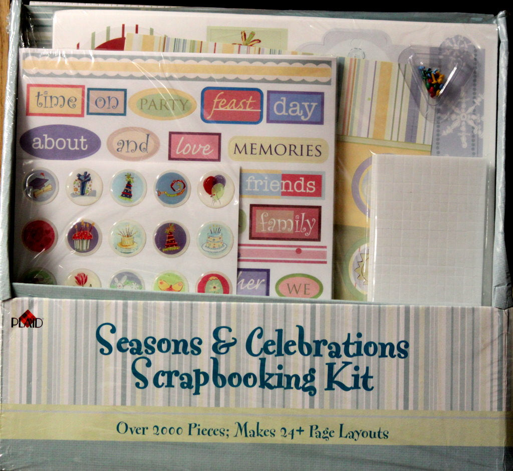 Plaid Seasons & Celebrations Scrapbooking Kit