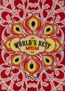 Anna Griffin World's Best Mom Dimensional Card Making Kit