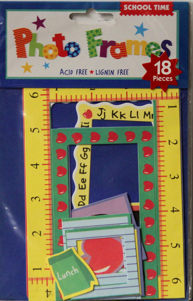 Amscan Inc. School Time Photo Frames Embellishments