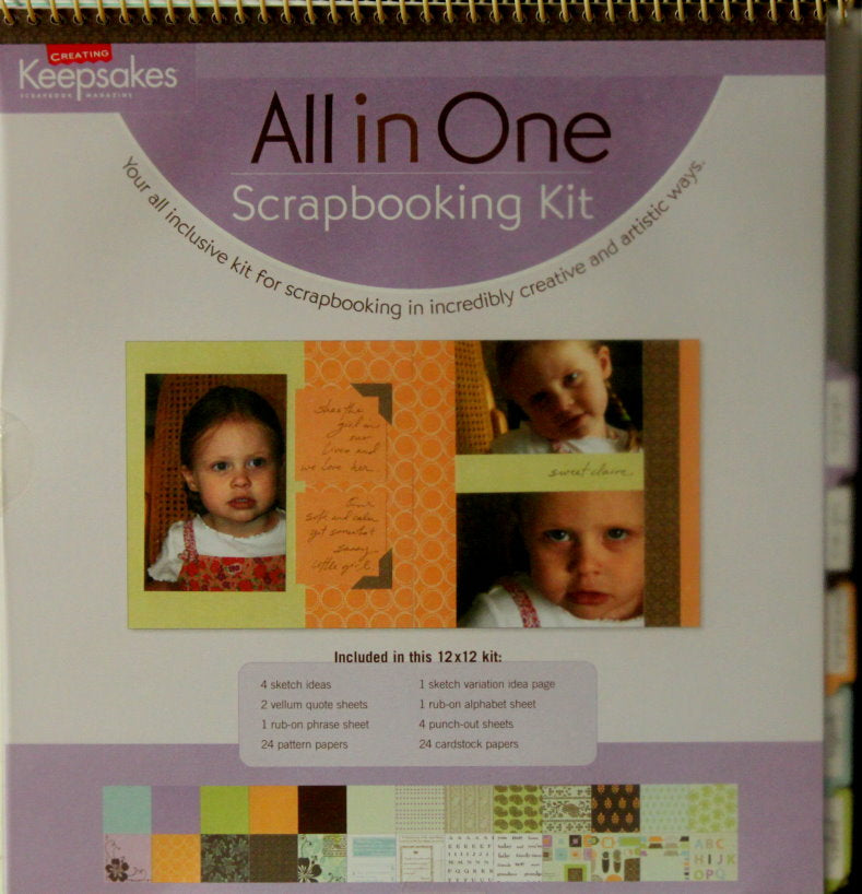 Creating Keepsakes All In One 12 x 12 Scrapbooking Kit