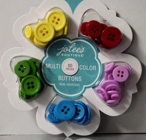 Jolee's Boutique Multi-Color Buttons