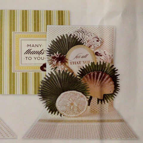 Anna Griffin Many Thanks Pop-up Card Making Kit