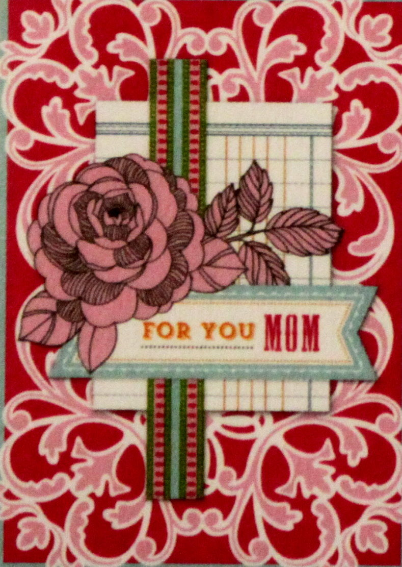 Anna Griffin For You Mom Dimensional Card Making Kit