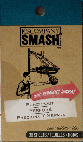 K & Company Smash Punch-out Die-cut Pad