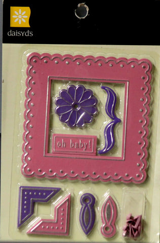Daisyd's Oh Baby Metal Infused Embellishments Set