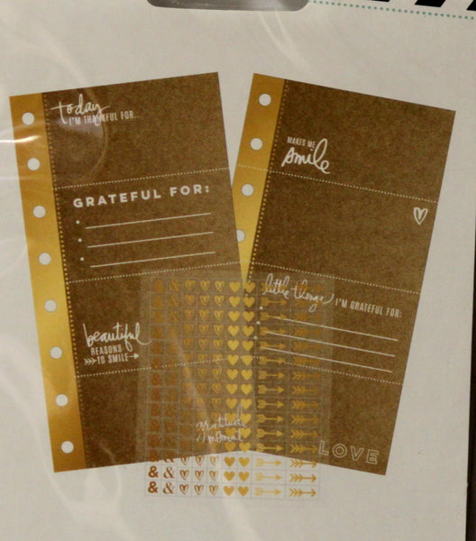 American Crafts Heidi Swapp Memory Planner Kraft Inserts And Stickers