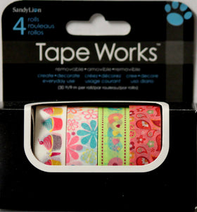 Sandy Lion Variety Self-Adhesive Removable Tape Works Collection - SCRAPBOOKFARE