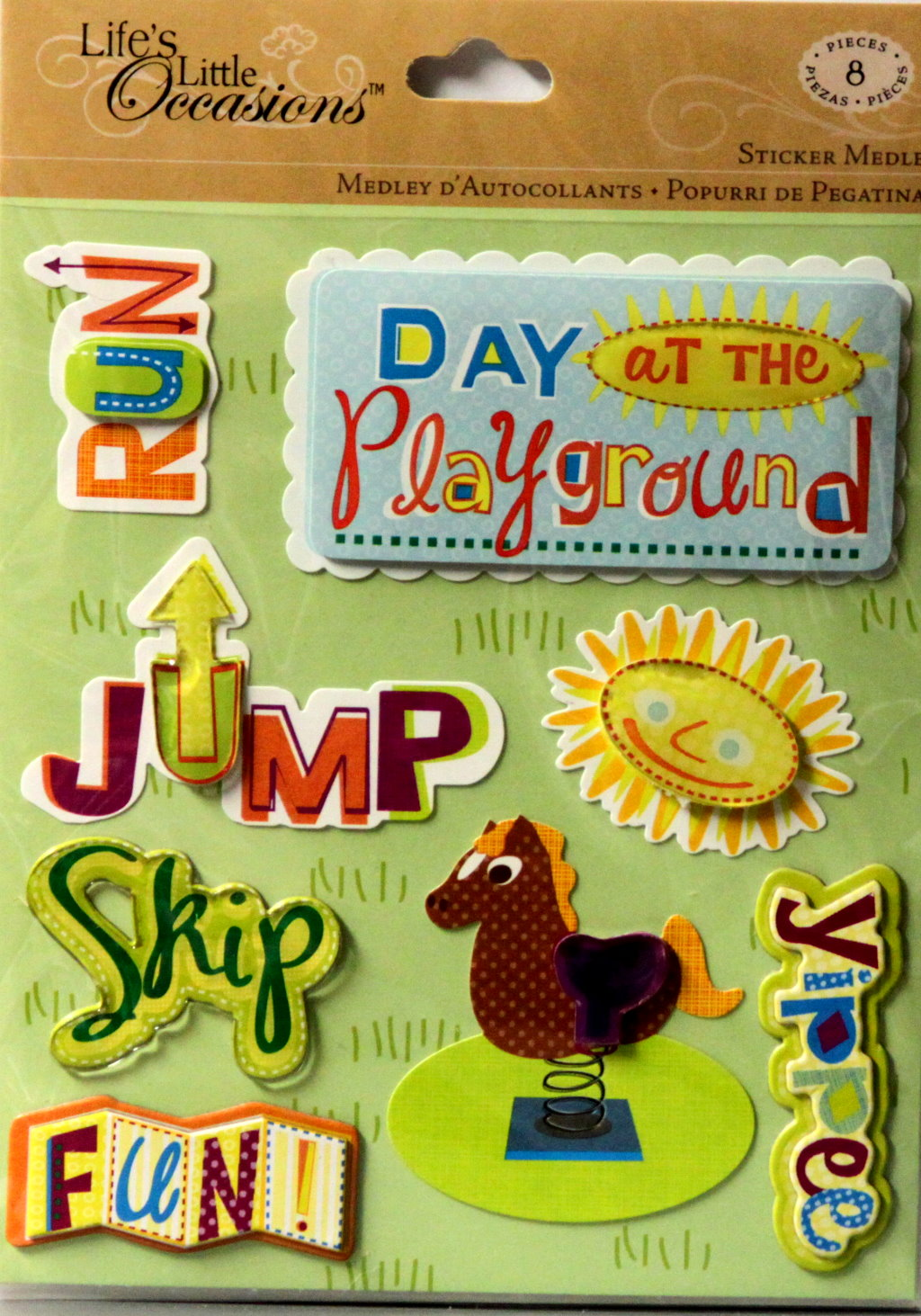 K & Company Life's Little Occasions Playground Sticker Medley