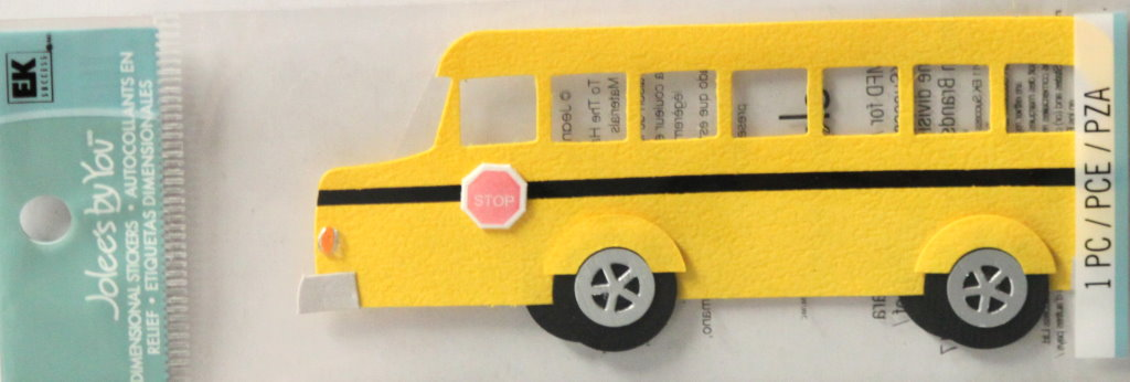 Jolee's By You School Bus Embellishment