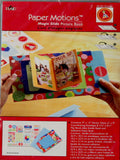 Plaid Paper Motions Magic Slide Birthday Picture Book - SCRAPBOOKFARE