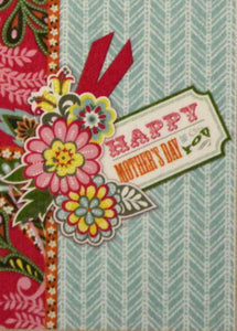 Anna Griffin Happy Mother's Day Dimensional Card Making Kit