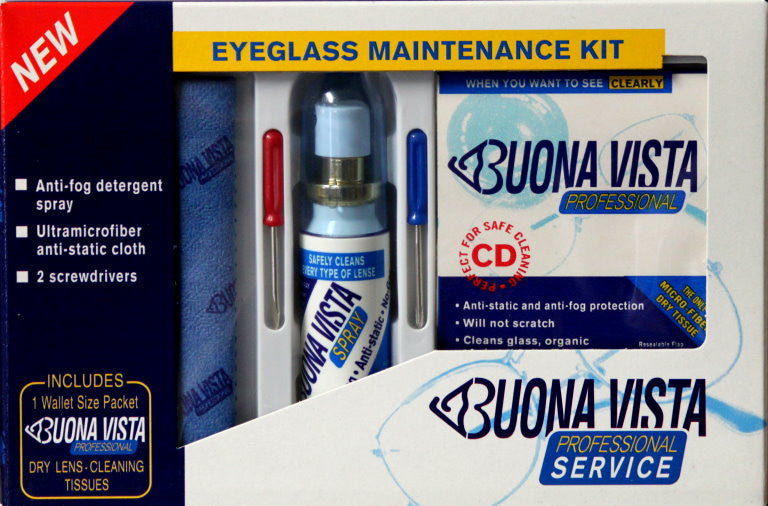 Buona Vista Professional Service Eyeglass Maintenance Kit - SCRAPBOOKFARE