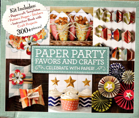 New Seasons Paper Party Favors and Crafts Projects Kit - SCRAPBOOKFARE