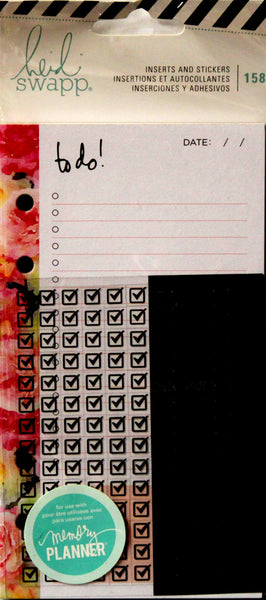 American Crafts Heidi Swapp Memory Planner Inserts And Stickers