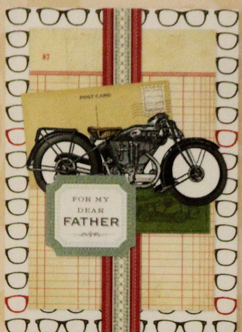 Anna Griffin For My Dear Father Dimensional Card Making Kit