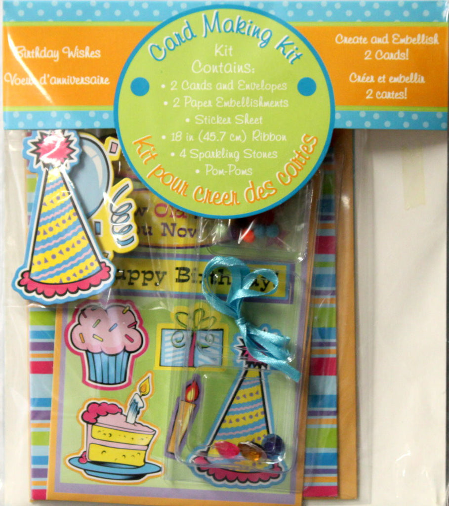 Birthday Wishes Card Making Kit