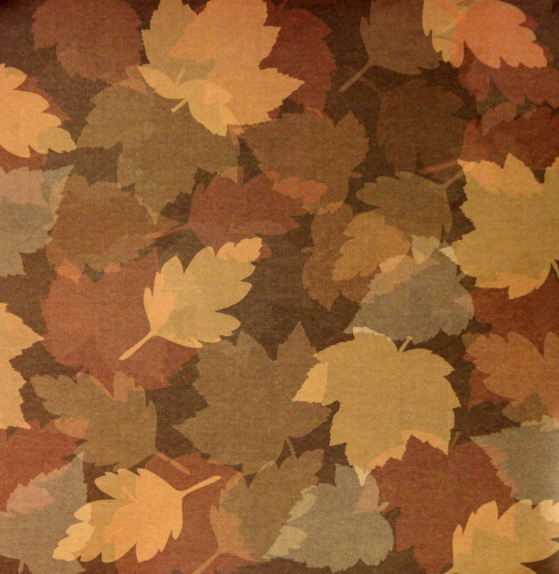 "Martha Stewart Crafts Holiday Fall Leaves 12"" x 12"" Designer Cardstock Scrapbook Paper"
