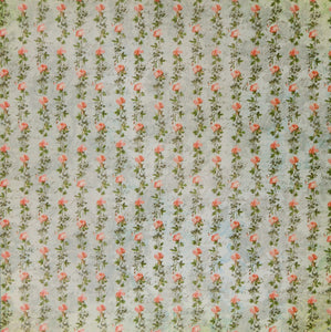 The Paper Studio 12 x 12  Kirby Teesdale Botanical Collection Flat Scrapbook Paper
