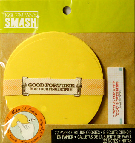 K & Company Smash Fortune Cookie Notes Set