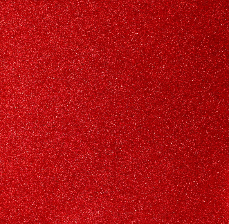 "Martha Stewart Crafts Holiday Shiny Patriotic Red Glitter 12""x 12"" Designer Specialty Cardstock Scrapbook Paper"