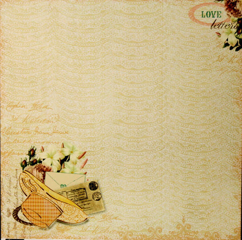 Webster's Pages Western Romance Country Fresh 12 x 12 Cardstock Scrapbook Paper
