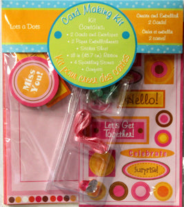 Lots A Dots Any Occasion Card Making Kit. - SCRAPBOOKFARE