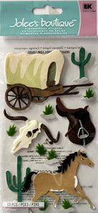 Jolee's Boutique Wild West Dimensional Stickers