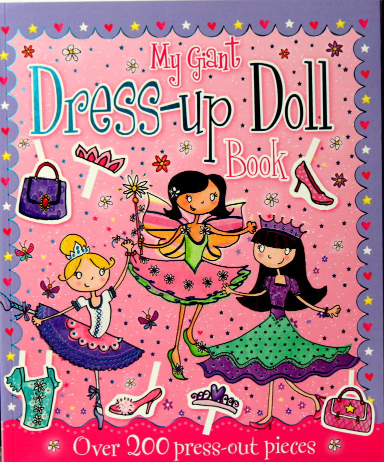 My Giant Dress-up Doll Book - SCRAPBOOKFARE