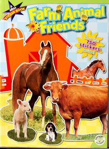 Farm Animal Friends Mega Sticker Activity Book - SCRAPBOOKFARE