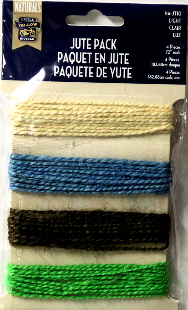Little Yellow Bicycle Naturals Light Jute Pack - SCRAPBOOKFARE