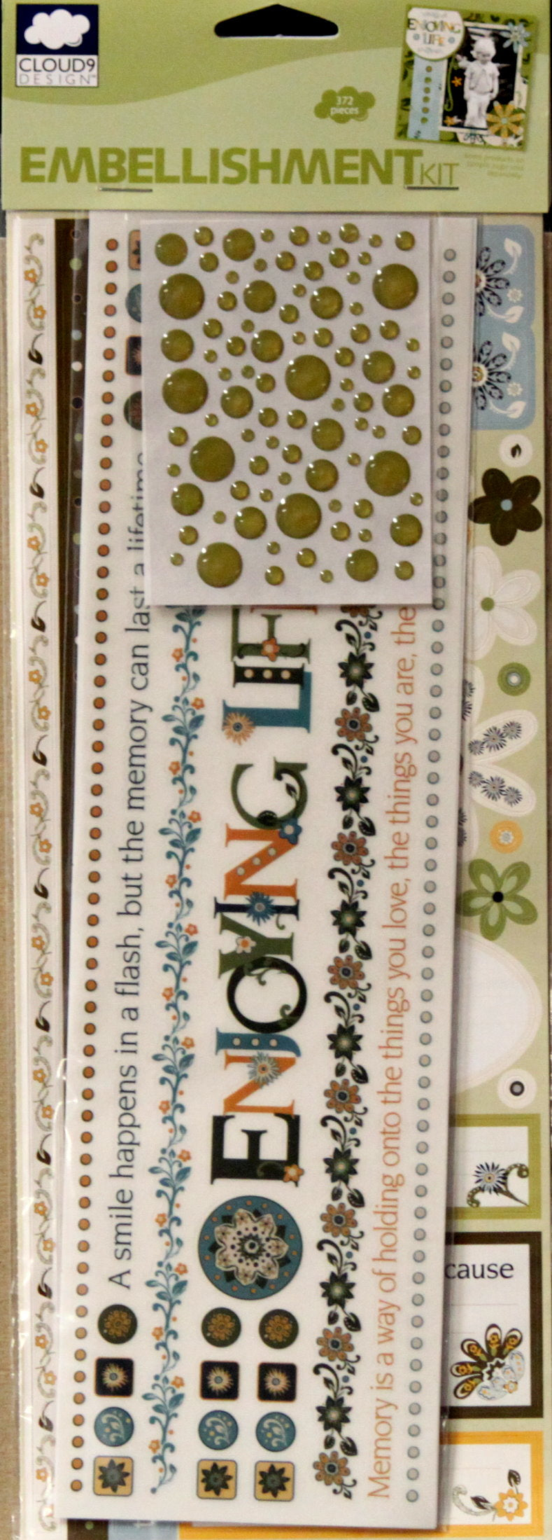 Cloud 9 Design Finley's Estate Embellishment Kit
