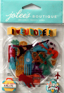 Jolee's Boutique Europe Dimensional Stickers - SCRAPBOOKFARE