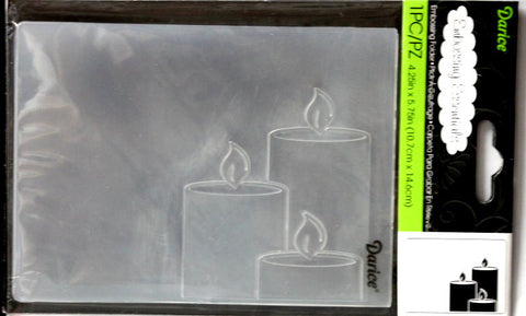 Darice Candles Lit Embossing Essentials Folder - SCRAPBOOKFARE