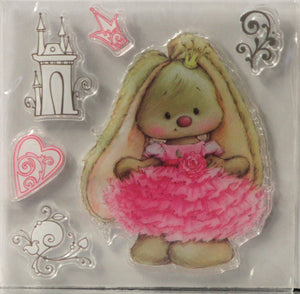 Bunny Princess Clear Stamps Set