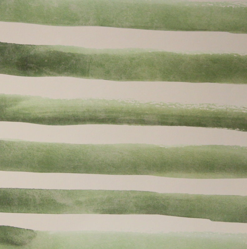 We R Memory Keepers 12 X 12 Wildflower Green Moss Stripes Cardstock Scrapbook Paper